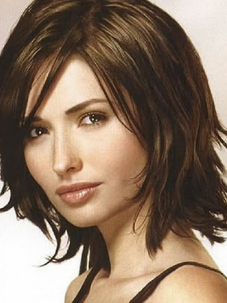Medium length hairstyles thick hair