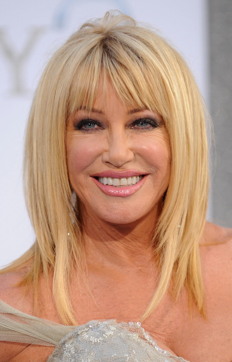 Bangs With Shoulder Length Hairstyle : Medium length hairstyles with bangs