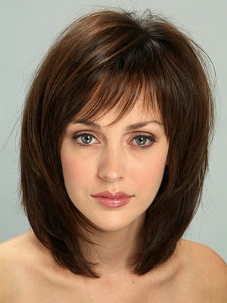 Hairstyles with Bangs. x Close. Beautiful Medium Length Hairstyles ...