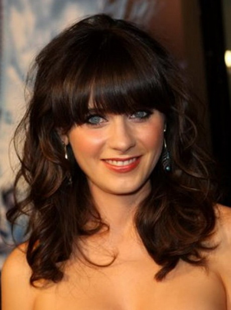 Medium Length Hairstyles With Fringe