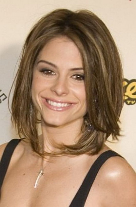 Medium Length Shag Hairstyle Pictures