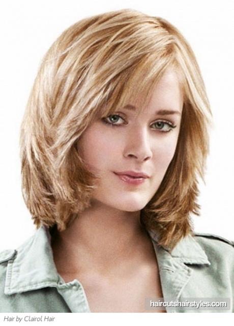 Medium Length Stacked Haircuts