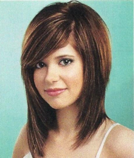 Medium Long Hairstyles With Bangs