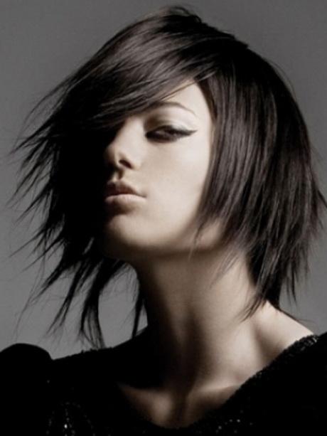 hairstyles punk medium hair layered hairstyle haircuts styles cool gel transform easily help