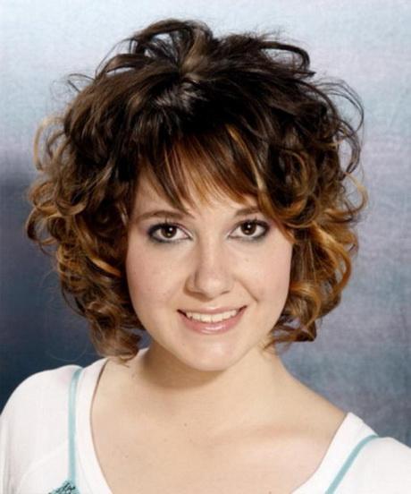 Medium short curly hairstyles