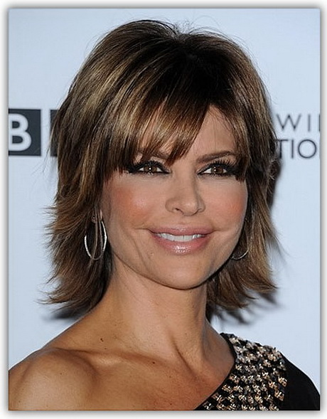 Medium short hairstyles thick hair