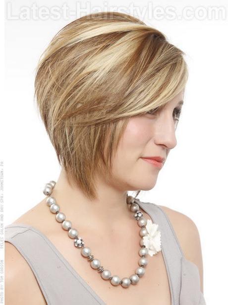 Medium Stacked Hairstyles