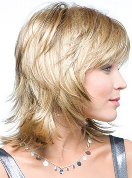 Medium Straight Layered Haircuts
