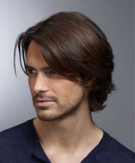 how to cut medium length mens hair
