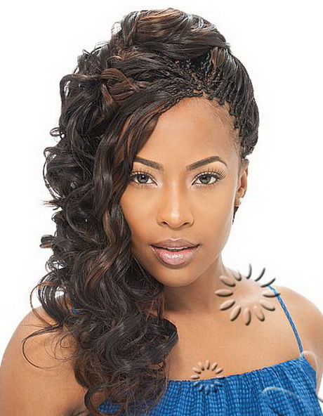 Cool African Kinky Twist Braid Hairstyles 002