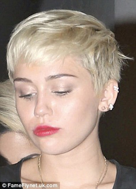 Miley cyrus short haircutMiley Cyrus Haircut Back