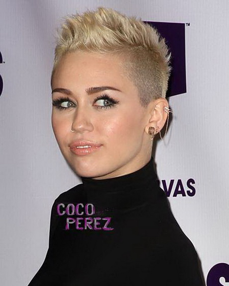 We thought this was just a phase in Miley Cyrus    life but turns out    Miley Cyrus Haircut Back