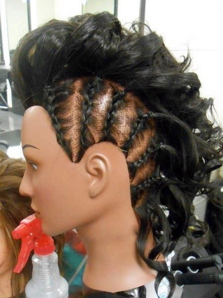 more mohawk hairstyles with braids mohawk haircuts mohawk braided ...