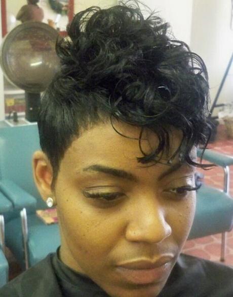 Monica short haircut