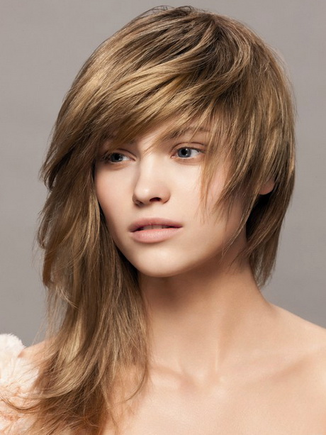 Amazing Popular Medium Length Hairstyles With Bangs 2013 Pictures To Pin On