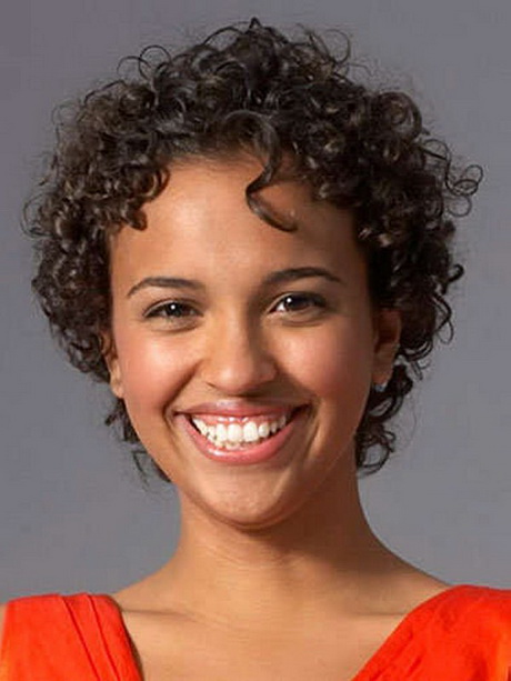 Short Curly Haircuts : Short American Natural Curly Hairstyles 2013