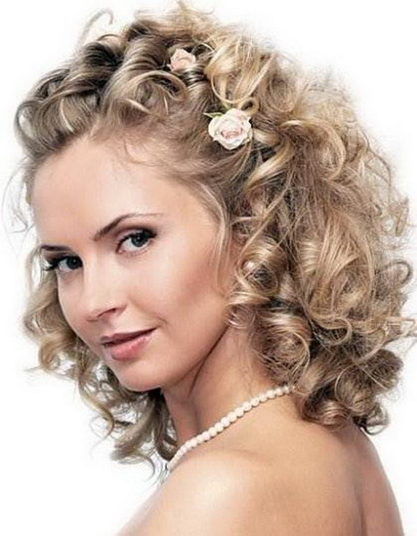 Wedding Styles For Naturally Curly Hair Short