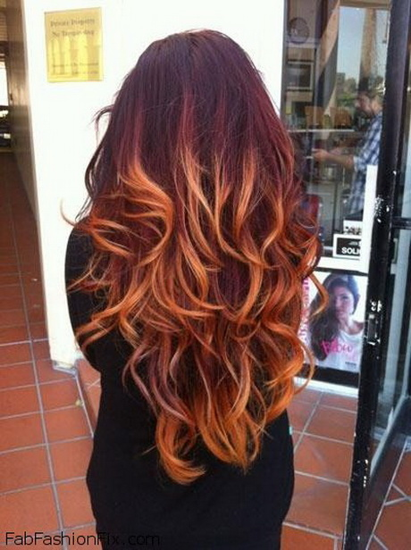 Ombre Color hair trend and inspirations 2015