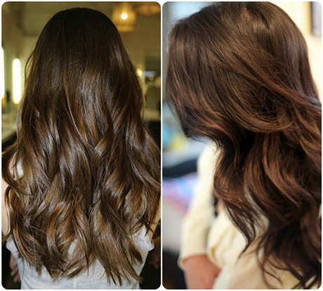 Chocolate Color With Soft Copper Highlights For 2015 Hair