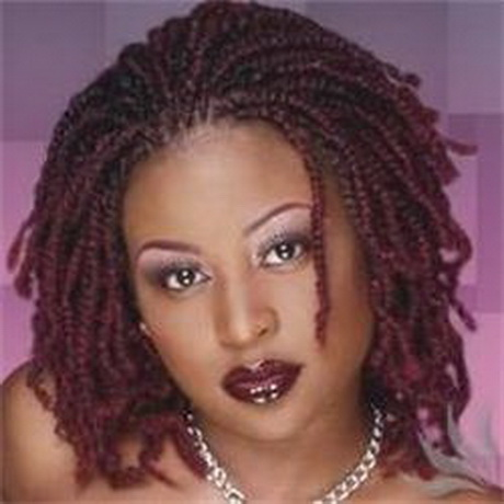 Creative  Of Twist Braids Hairstyles  Short Kinky Twists  Braid Styles