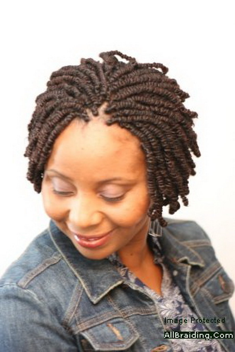 Nubian Twists With Natural Hair