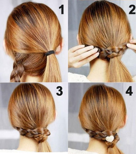 Daily Office Hairstyles For Medium Hair : Hair elastic to secure it tightly read daily hairstyles for long
