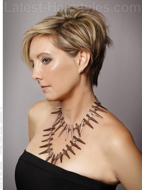 Older Women Short Hair Styles