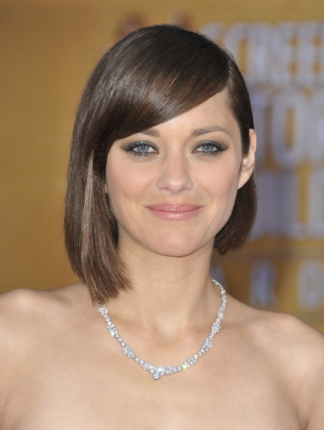 the classic bob and adding a twist. Leave one side of your hair longer ...