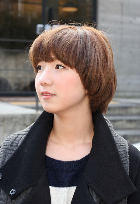 Cute Short Japanese Bob Hairstyle for Girls Cute Short Bob Hairstyle ...