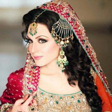 Pakistani Hairstyles For Weddings