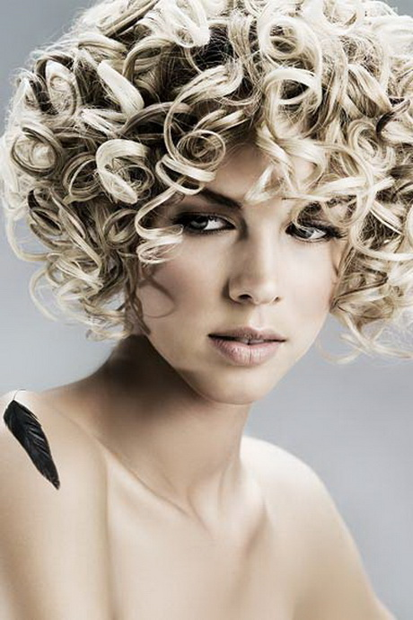 Perm hairstyles for short hair