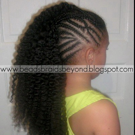 Black Girl Hairstyles Kids moreover Hair For Tree Braids Hairstyles ...