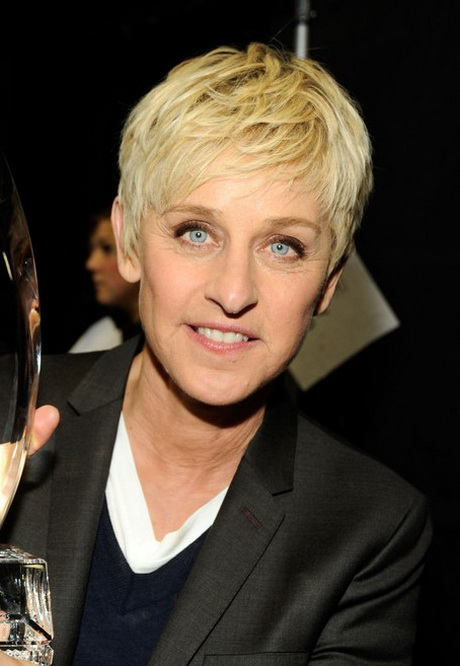 Ellen DeGeneres Short Hairstyles for Women Over 50