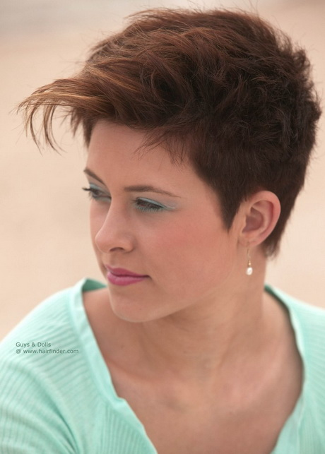 ... hairstyle for women | Pixie with short and tapered back and sides