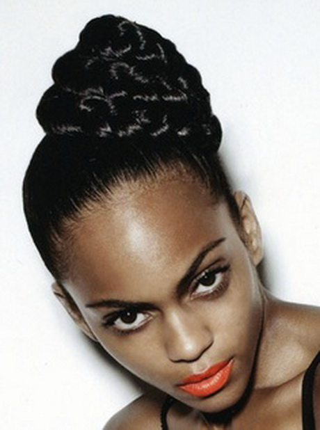 Pin Up Hairstyles For Black Women