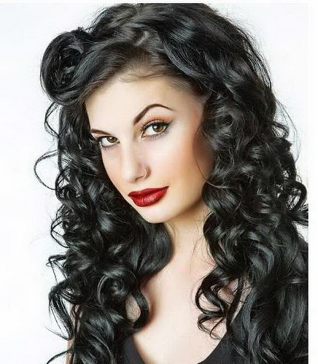 Wonderful  Tags Pin Up Hair Pin Up Hairstyles Rockabilly Hair Short Pin Up Hair
