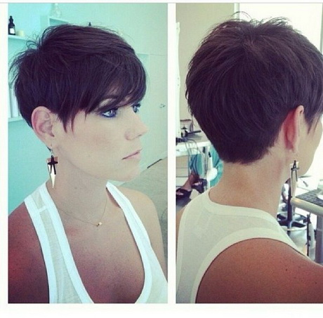 Short Pixie Haircuts Back View