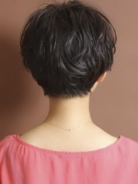 Short Hair Back On Pinterest Pixie Back View Short ...