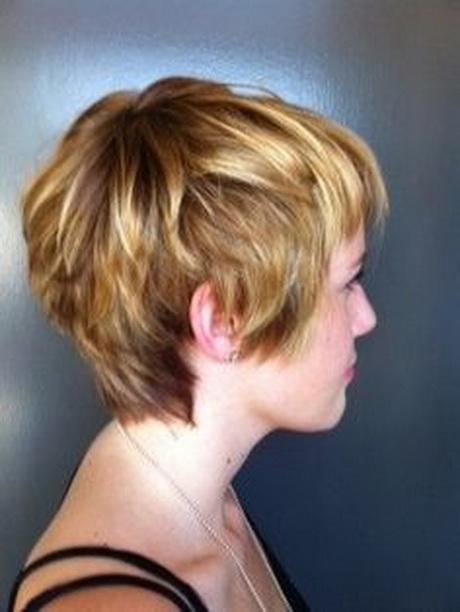 Long Pixie Haircut Back View