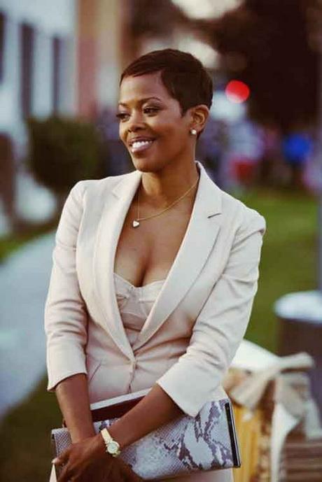 Pixie Haircut Black Women