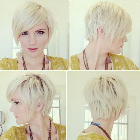 piecey hairstyles : Ashley Simpson Long Face Shape Pixie Hair Style
