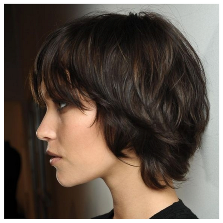 This cut combines short hair playfulness with long hair sexiness ...