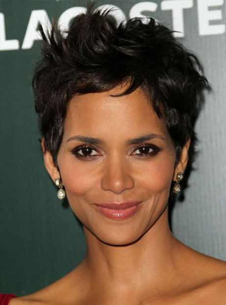 Hairstyle Cut : Pixie haircut halle berry