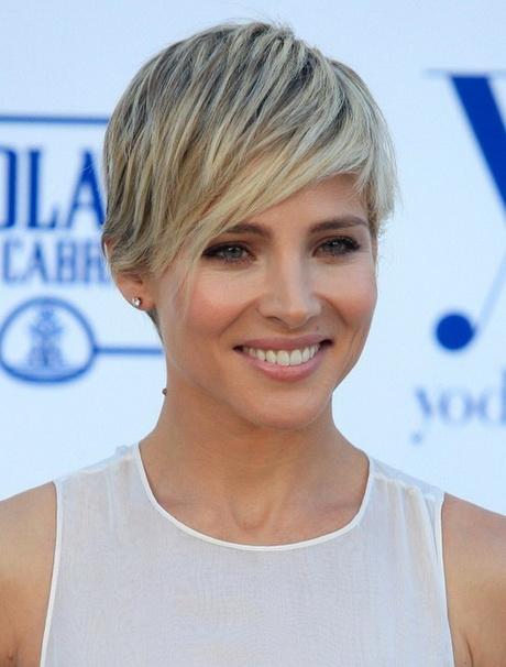 Short Hairstyles: Trendy Layered Pixie Haircut Elsa Pataky's Short