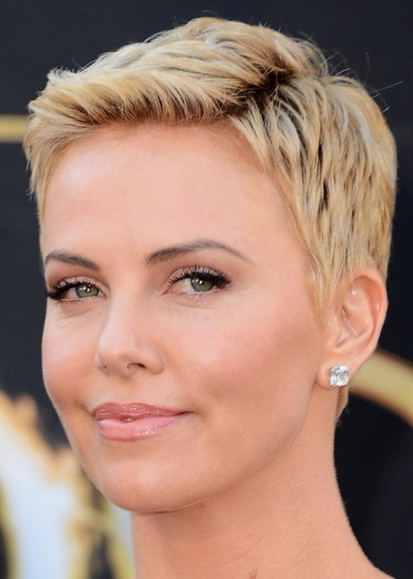 Charlize Theron Short Pixie