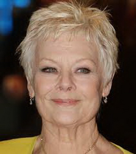 Hair styles for women over 60 for many years now dame dench has