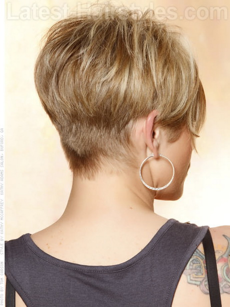 Pixie haircut with a long front is a very gorgeous haircut and gives a