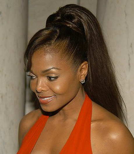 black women updo hairstyles : cute ponytail hairstyles black women black ponytail hairstyles