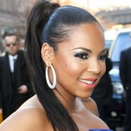 ponytails for black women