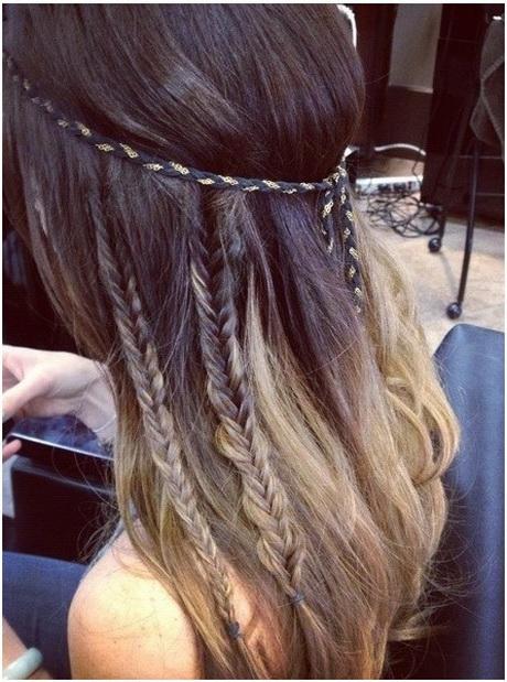 pretty braided hairstyles for long hair